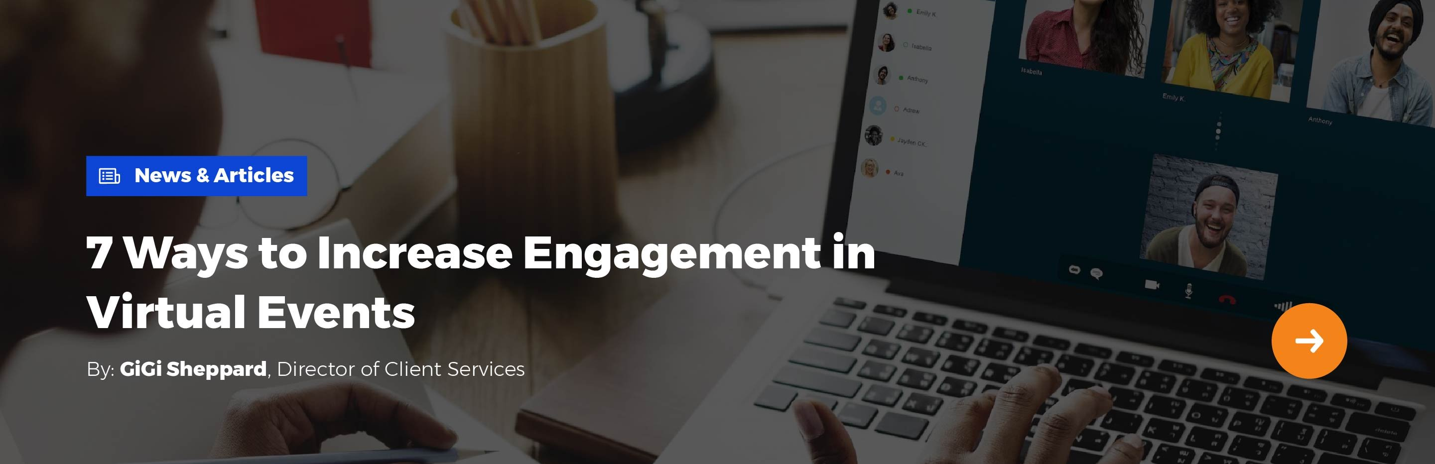 Solved: How to Measure Virtual Event ROI   AMP Event Group - 7 Ways to Increase Engagement in Virtual Events