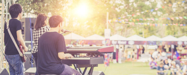 Outdoor Sound-Concert